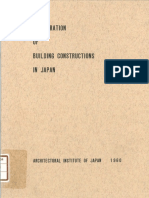 Illustration of Building Constructions in Japan
