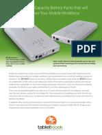 TK BP160 220 Battery Productsheet US En