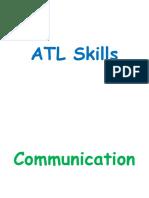 ATL Skills Framework - Posters