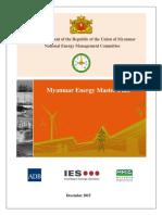 Myanmar Energy Master Plan (12-2105)