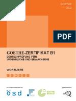 332392613 Goethe Zertifikat B1 Wortliste