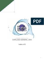 ECOMAMPARA Catalogo 2014 Completo