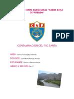 Contaminación Del Río Santa