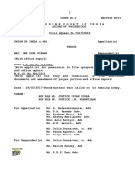 Compilation of Supreme Court Orders