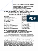 Brian D. Hill FOIA Appeal filings