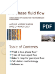 Two-phase Flow (Gas-flow) Line Sizing