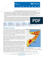 OCHA Situation Report About the Drought Situation in Somalia 7 April 2017