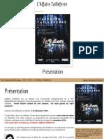 L'Affaire Tailleferre _ Présentation