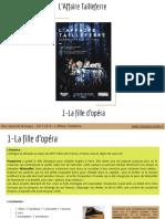 L'Affaire Tailleferre _ 1-La fille d'opéra