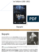 Tailleferre _ Biographie
