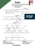 6. HCU-M.sc. Question Paper 2010
