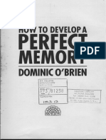 How To Develop A Perfect Memory - O'Brien.pdf