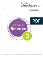 Science Checkpoint No 3