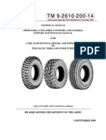 Tm9-2610-200-14 US Army Tire Manual