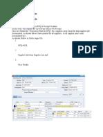 RFQ to PO Receipt Cycle