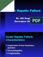 Acute Hepatic Failure English