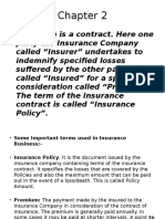 Chapter 2 Insurance