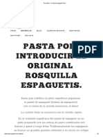 Pop Pasta - El Original Espagueti Donut