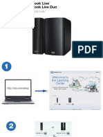 WD My Book Live 3TB Quick Installation Guide - English