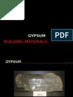 3. gypsum