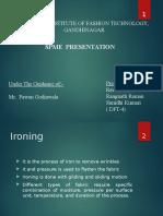 Sewn product and machine equipment (SPME-2)