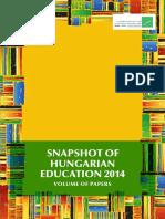 Snapshot of Hungarian education 2014