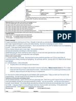 Flavio TP5 - LP Front Page&Procedure