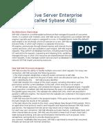 SAP Adaptive Server Enterprise