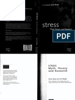 Jones & Bright - Stress. Myth, Theory and Research