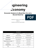 Engineering Economy Economic Analysis