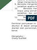 Surat Pernyataan Ns 11 Point