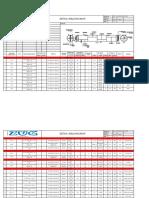 Sample List Detail Welding Map