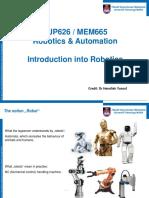 1. Introduction Into Robotics