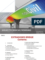 Extradosed Bridge Midas