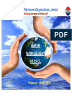 CPCL Water Management Dr.M