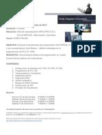 Capacitaciones Intelpro Noviembre 2015