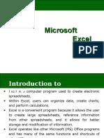 Microsoft Excel Presentation 17558