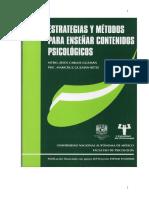 Libro Estrategias y Metodos Para Ensenar Contenidos Psicologicos