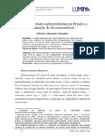 SOBRINHO, Gilberto Alexandre. Vídeo e Televisão Independentes No Brasil e a Realização de Documentários