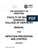 Faculty Infection Control Manual 15 16