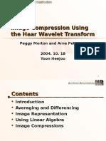 [2004!10!18 HeeJoo]ImageCompressionUsingtheHaarWaveletTransform 2