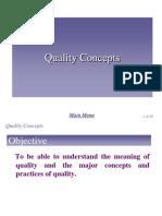 Chap 5 - Quality Concept