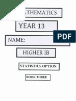 Hl Stat Option Book 3
