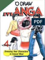 Drawing Casual Wear [How to Draw Manga - Volume 4]