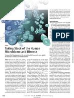 human microbiota and disease
