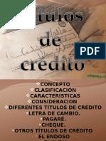 Titulos de Credito