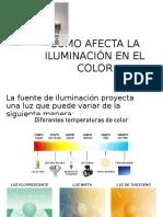 Como Afecta La Iluminación en El Color