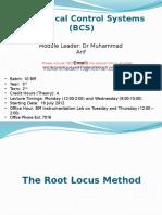 Lecture7 Root Locus