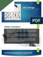 Presentation JOB DESIGN Rev