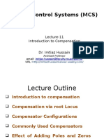 Lecture 11 Introduction to Compensation